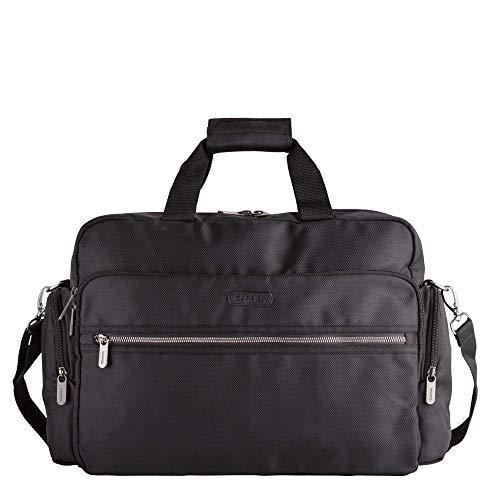 CARPISA® Trapper - Bolsa de trabajo con bandolera para hombre, Negro (Negro) - BT822102W1900101