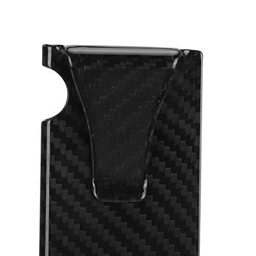 Snufeve6 Cartera Delgada de Fibra de Carbono, Clip para Billetes de Fibra de Carbono Reutilizable...
